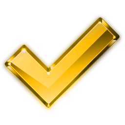 File:Crystal Project tick yellow.png