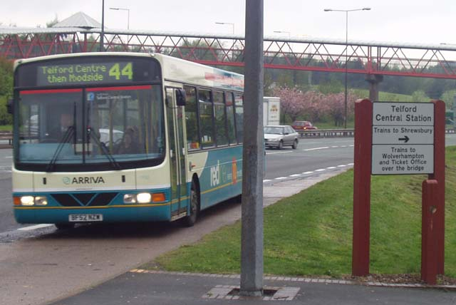File:Arriva bus at Telford Central.jpg