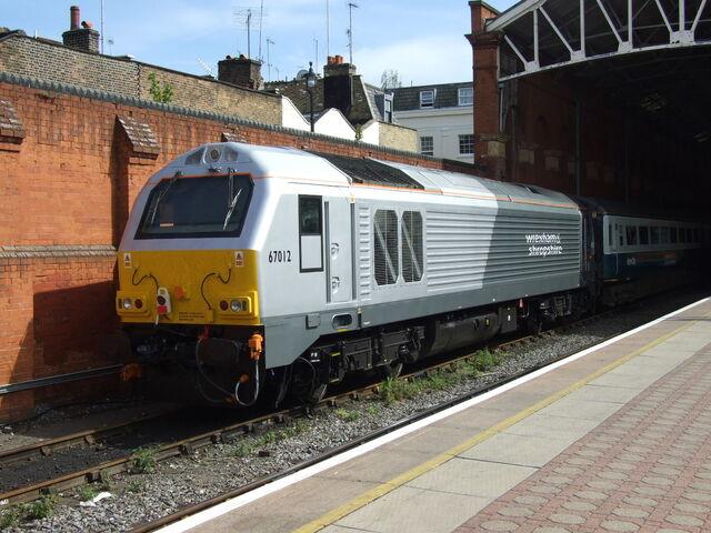 File:Wrexham and Shropshire 67012 Marylebone TT1.jpg