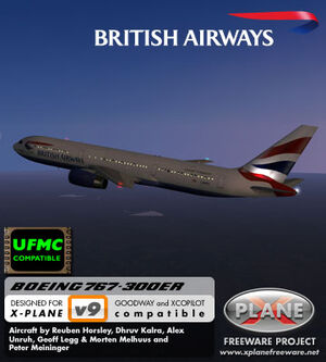 Boeing 767 300 | UK X-Plane Developers Wiki | FANDOM powered by Wikia
