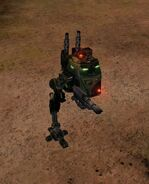 Sentinel lascannon