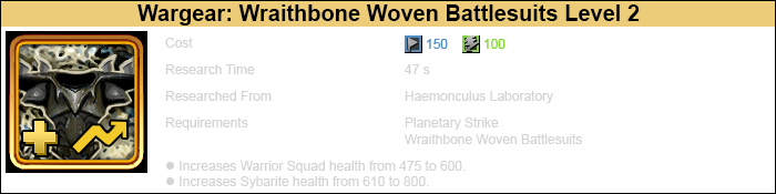 Research wraithbone woven battlesuits 2 warrior-3