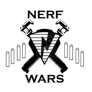 Nerf War logo 1 by Jrsilsby