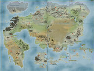 Map of the Dragon World