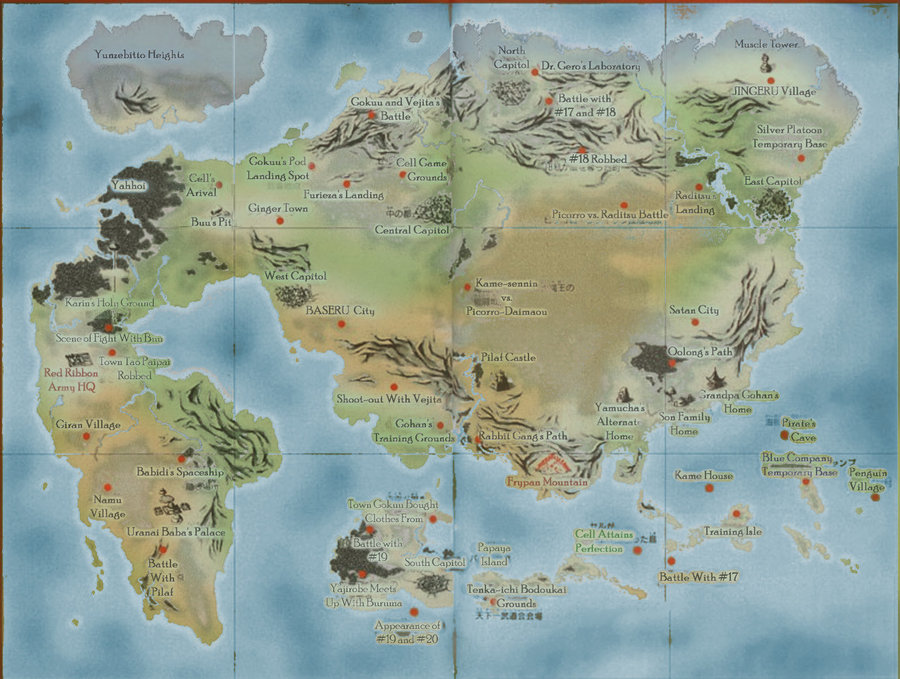 Image map of the dragon worldg ultimate crossover wiki map of the dragon worldg gumiabroncs Choice Image