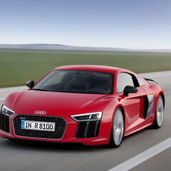 The <b>R8</b> in real life