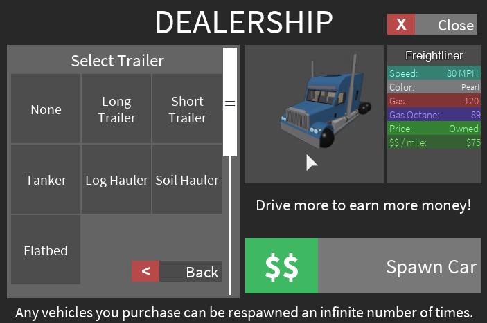 Trucker Team Ultimate Driving Roblox Wikia Fandom