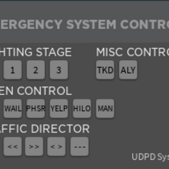 New Police Siren GUI.