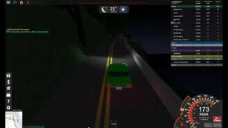 The Most Difficult Road on Roblox UD-How to drive on Porter Hill Road