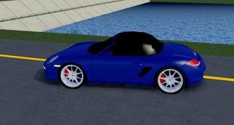 Porsche boxter s side