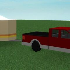 Brick F-150 with a trailer. Unknown if this feature will ever be implemented.