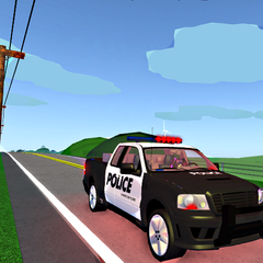 The police F-150.