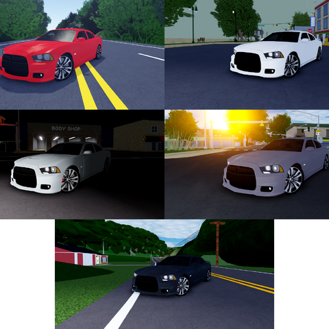 Dodge Charger SRT-8 (2013) | Ultimate Driving Roblox Wikia | FANDOM