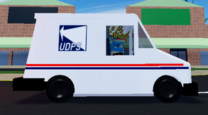 Mail Van (Grumman LLV) | Ultimate Driving Roblox Wikia