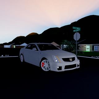 Badged CTS-V Sedan