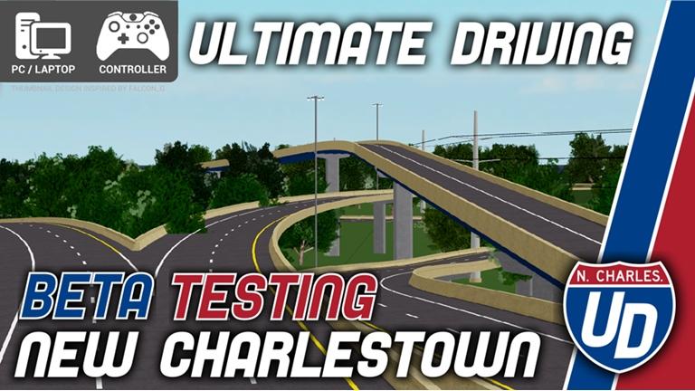 Ud New Charlestown Ultimate Driving Roblox Wikia Fandom