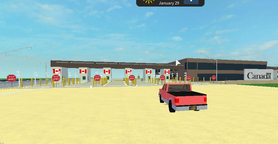 USA/Canada Border Crossing | Ultimate Driving Roblox Wikia