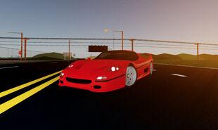 Ae86 Meshed Roblox Ferrari F50 Ultimate Driving Roblox Wikia Fandom Powered By Wikia