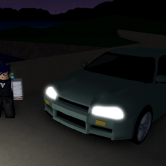 The 1st meshed Skyline R34