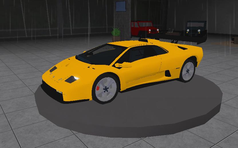 Lamborghini Diablo Ultimate Driving Roblox Wikia