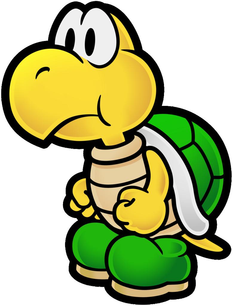 Image  Koopa Troopa Paper Mario seriespng  Ultimate Gaming