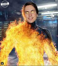 Human torch joe thomas
