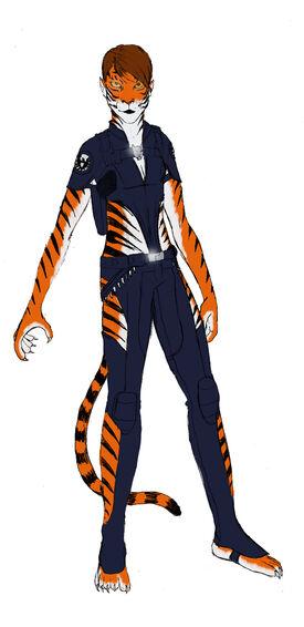 Tigra by spearhafoc