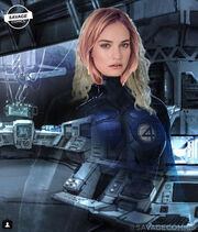 Lily james invisible woman