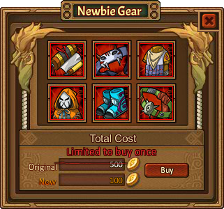 Newbie Gear Set