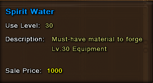 Spirit Water