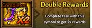 Double reward