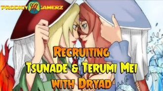 Anime Ninja - Recruiting Tsunade & Terumi Mei with Dryad - Naruto Games - Browser Online Games