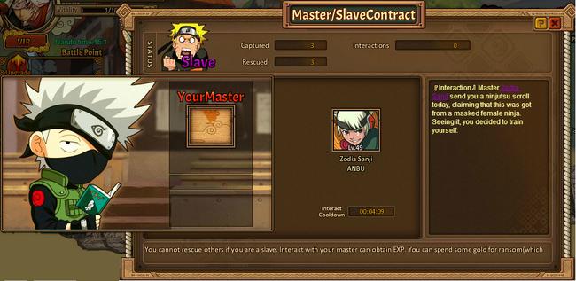 Master and slave slave