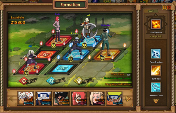 Ultimate Ninja stage
