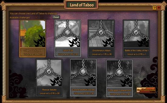 Land of Taboo