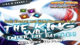 Anime Ninja Jade Evolve & Star Upgrade Test Naruto Game Browser Online Game