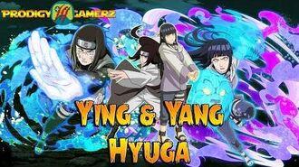 Anime Ninja - Ying & Yang Hyuga Neji Hinata - Naruto Games - Browser Online Games