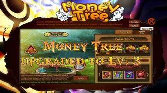 Anime Ninja Money Tree upgraded to Lv. 3 Naruto Game Browser Online Game