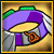 110 Purple Flame Belt