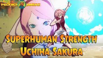 Anime Ninja - Superhuman Strength Uchiha Sakura - Naruto Games - Browser Online Games