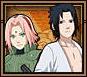 Sasuke & Sakura Small Grid