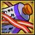 110 Purple Flame Scroll