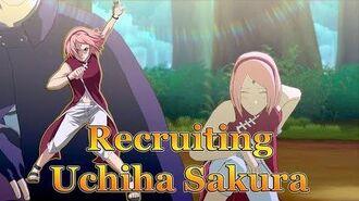 Anime Ninja - Recruiting Uchiha Sakura - Naruto Games - Browser Online