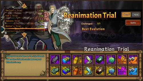 Reanimation Trial Grid