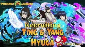 Anime Ninja - Recruiting Neji & Hinata w Santa Claus Pet - Naruto Games - Browser Online