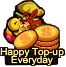 Happy Top-up Everyday Small Grid