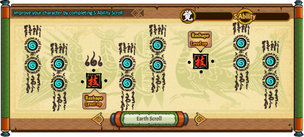 S.Ability Earth Scroll