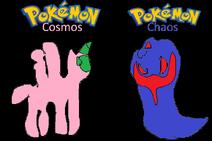 Pokemon Cosmos and Chaos
