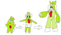 Moxlet evolution male