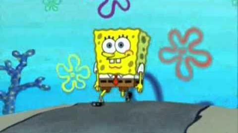 Spongebob walks for 10 minutes HQ